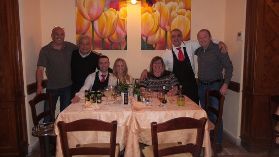 Le Grazie: great times and great food.