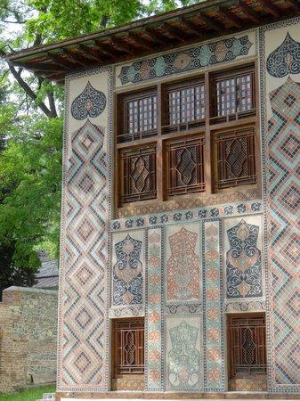 Sheki Khan's Palace : Fassadendetail