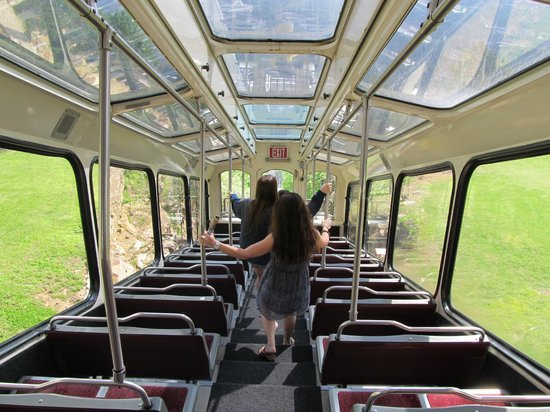The Lookout Mountain Incline Railway: ENTERING TRAIN