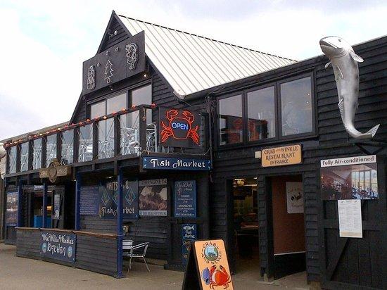 Crab & Winkle Restaurant: Crab & Winkle Whitstable