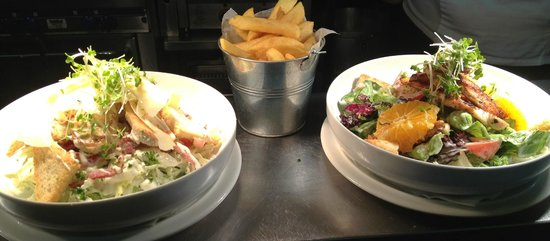 The Market Bar: Selection of Salads