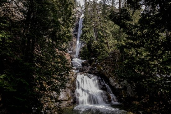 Rainbow Falls During Early Spring Run-off