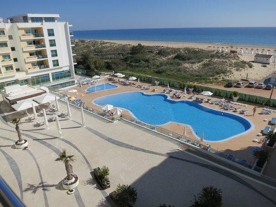 Hotel-Apartamentos Dunamar : Zicht vanop kamer 4de verdieping