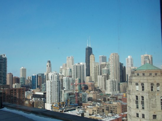 Holiday Inn Chicago Mart Plaza River North : View from room 1867