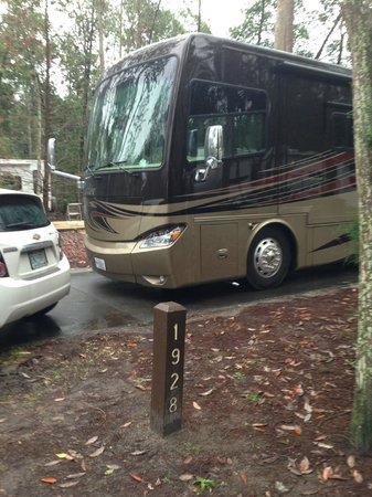 The Campsites at Disney's Fort Wilderness Resort: Our Site