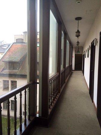 Hotel Unicus : corridor