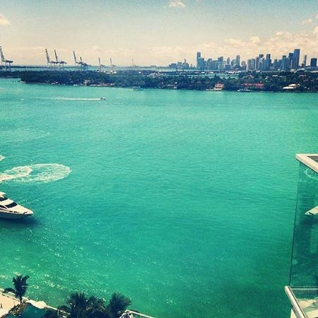 Mondrian South Beach Hotel: Morning View