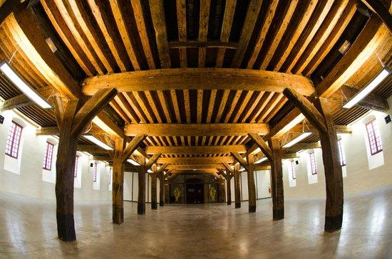 Fort Barraux : Une grande salle