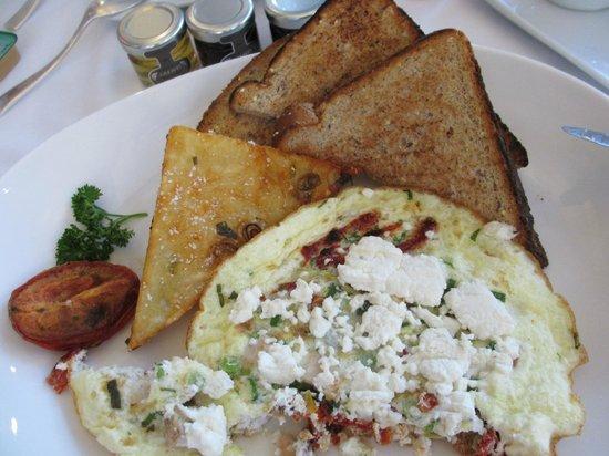 LIV Restaurant : Egg white frittata