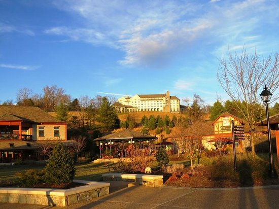 The Inn on Biltmore Estate: The Inn, set atop a hill, photo by Mike Keenan