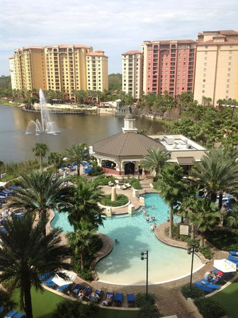 Wyndham Grand Orlando Resort Bonnet Creek: View From Our Room