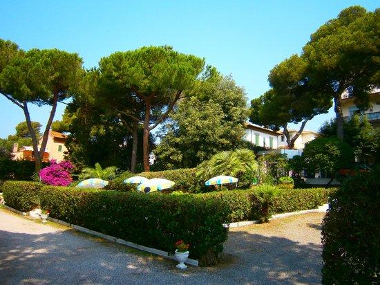 Costa Verde Hotel: Parco