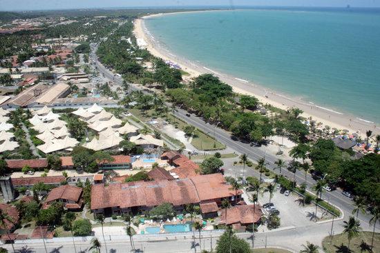 Taperapuan Praia Hotel : Praia de Taperapuan