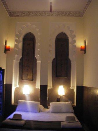 Riad Ambre et Epices: Our room