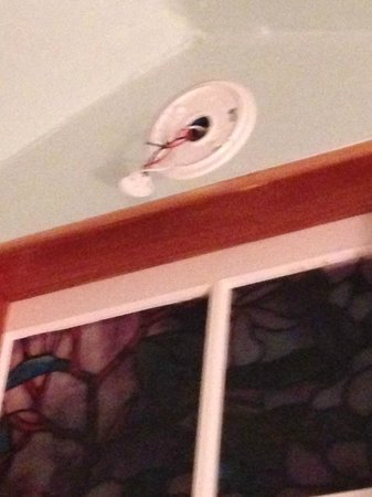 Tropical Cottages: Missing smoke detector