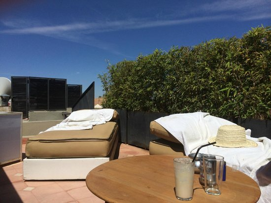 Riad Ambre et Epices : what a roof terrace