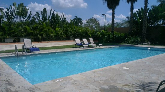 Hodelpa Garden Court: the pool area