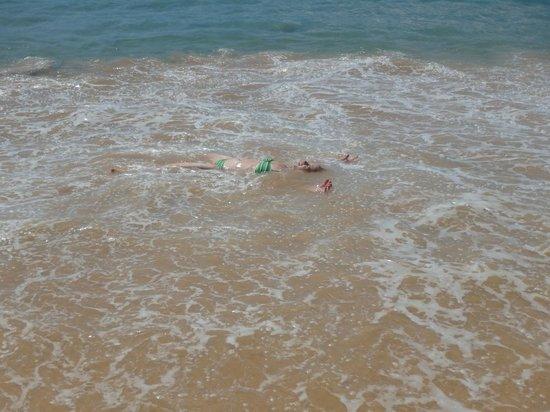 Makena Beach: I call this the washing machine!