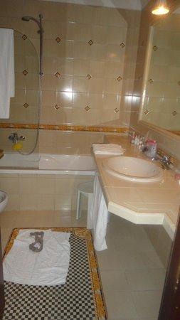 Hotel Diana Roof Garden: banheiro do quarto em que ficamos