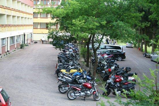 Bebra, Jerman: Motorrad in Ruhe