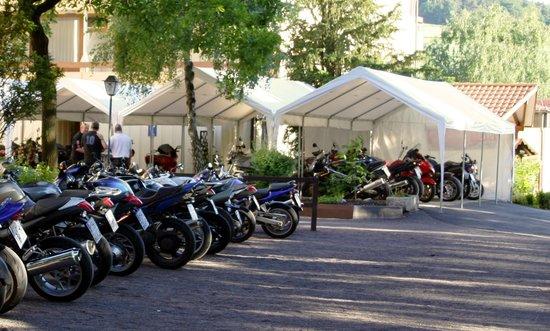 Bebra, Germany: Motorräder 'in Ruhe'