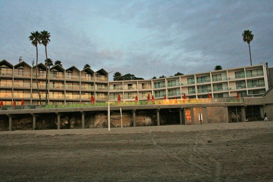 Dream Inn, a view from the beach