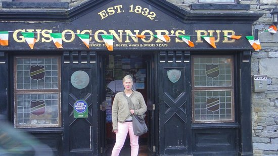 O'Connors Pub Doolin : day after patty's day