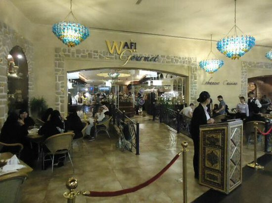Wafi Gourmet : Unique small market and great dining experience in Dubai Mall.