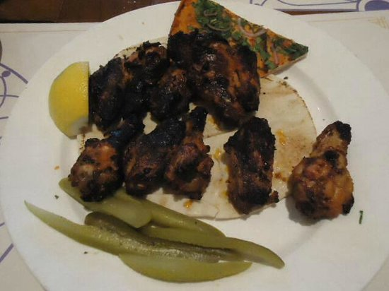 Wafi Gourmet : BBQ chicken wings, very tasty!
