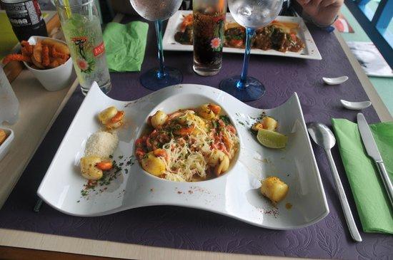 Le VERT'ical : Spaghetti aux Saint-Jacques