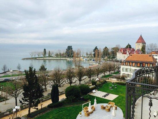 Beau-Rivage Palace : lake view