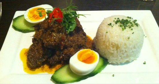 Bath House Hotel: Beef Rendang Authentic Malaysian Curry