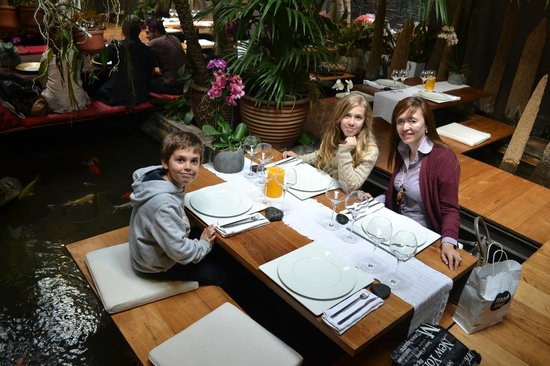 Restaurant Indochine Ly Leap: Ambiente