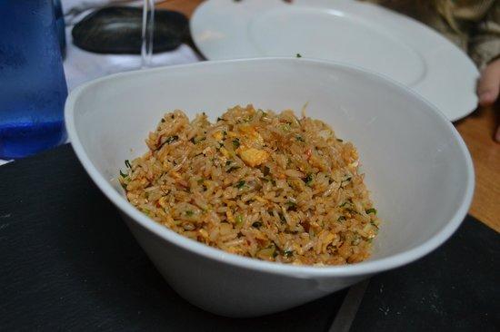 Restaurant Indochine Ly Leap: Arooz frito con Gambas y Cilantro