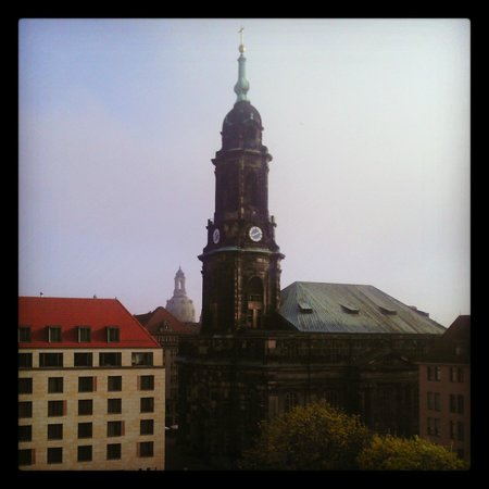 Holiday Inn Express Dresden City Centre: view out back
