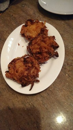 Sindhoor South Indian Restaurant: Onion bhaji