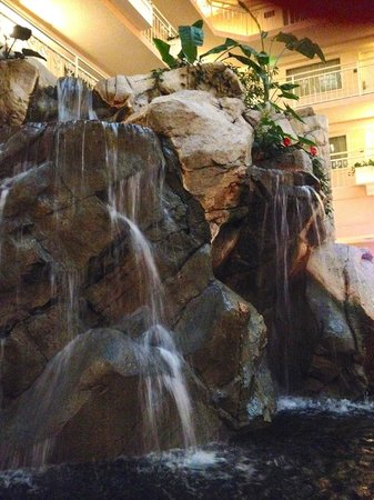 Embassy Suites by Hilton Hotel San Rafael - Marin County / Conference Center: atrium waterfall
