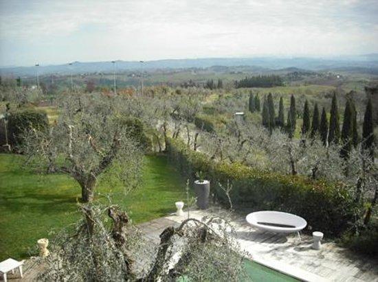 Villasanpaolo : Vista dal ristorante
