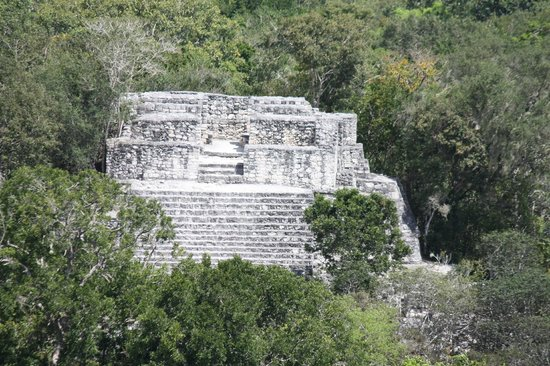 Calakmul Archaeological Zone : la structure IV