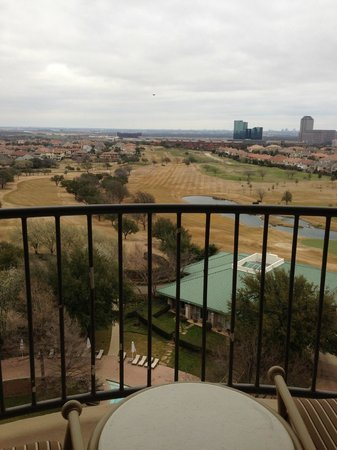 Four Seasons Resort and Club Dallas at Las Colinas: view from my terrace