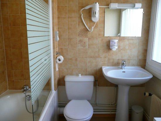 Hôtel Des Plantes: Salle de bains