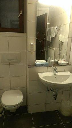 Lobinger Hotel Weisses Ross: Ванная комната