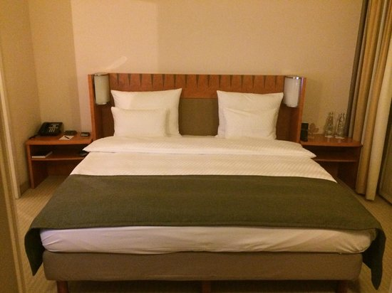 Hilton Munich Airport: Bed