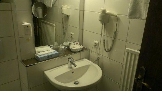 Lobinger Hotel Weisses Ross: Уборная