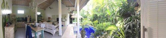 Bermimpi Bali Villas : View from Bedroom Door