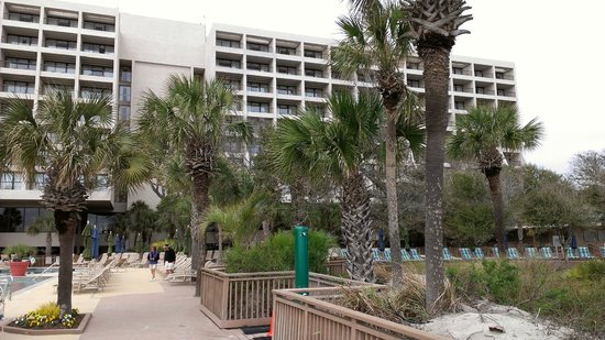 Hilton Head Marriott Resort & Spa: Ocean FRONT Tower