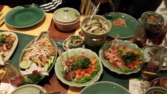 Sala Thai : All my dinner ^_^