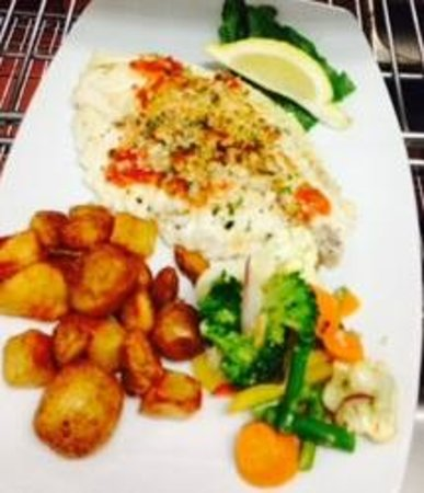 Harbor House Grille: Brick Oven Tilapia Special