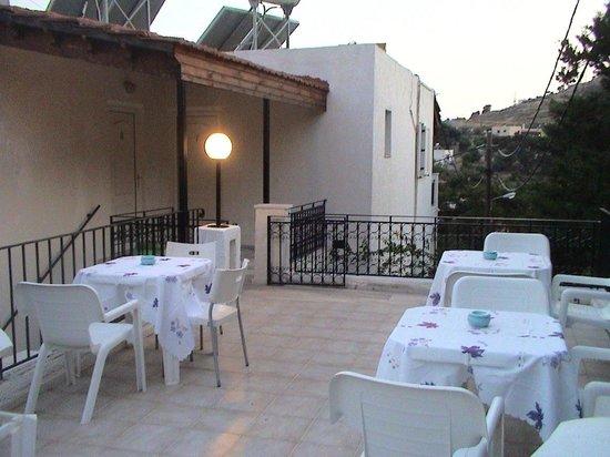 Elite Apartments : Common veranda