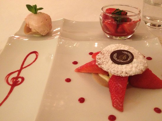 Le Beaulieu: Autour de la fraise